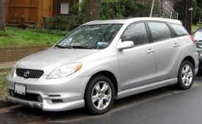 2003 Toyota Matrix - Information and photos - ZombieDrive