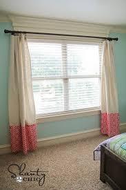 no sew curtains step 3