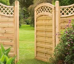 europa prague gate in garden landscape