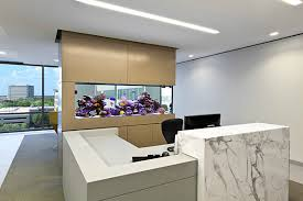 office aquarium. View In Gallery Modern Office Aquarium As A Divider