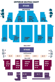 Orpheum Theater Phoenix Seating Chart Best Seats Theater Online Charts Collection