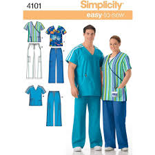 Scrub Patterns Interesting Simplicity Pattern Plus Size Scrubs XL XXL XXXL Walmart