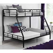 Mainstays Twin Over Full Metal Bunk Bed, Black - Walmart.com