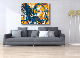yellow blue black white grey abstract painting digital art  on yellow blue and grey wall art with an original yellow orange blue black white and grey abstract