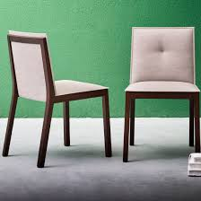 Moderner Stuhl Polster Stoff Holz Esedra By Rda