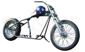 snake motorcycles old school bobber rolling chassis kit