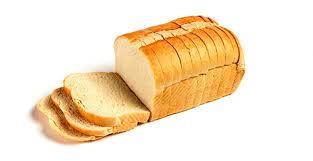2 slices of white bread.  White 20 Oz Split Top White Bread 12 Throughout 2 Slices Of U