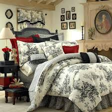 blue toile bedding black and cream bedding cur bed covers blue toile bedding blue bedding
