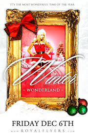 winter wonderland christmas flyer psd template royal flyers christmas party club flyer template winter wonderland flyer