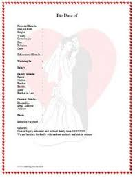 Marriage Biodata Format In Word File Free Download