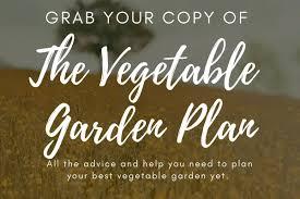 get the vegetable garden plan family