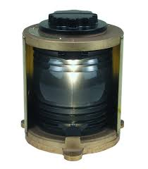 perko single lens navigation light white stern light single lens navigation light 1174 white stern light heavy duty cast bronze