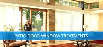 patio door window treatments for existing decor ideas designs modernize home front blinds uk barn door window treatment