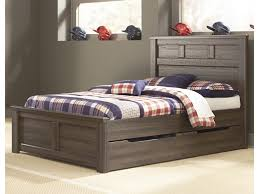 Juno Transitional Full Panel Bed w/ Under Bed Storage by Signature Design by Ashley at John V Schultz Furniture