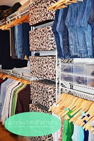 jeans organization closet hanging