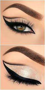 ery almond eye makeup look makeup s winged eyeliner makeup tutorial party