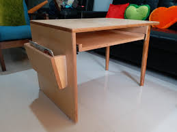 hey guys i made a baltic birch plywood and teak coffee table which i designed myself