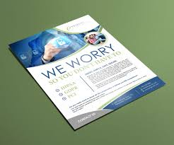 Serious Modern Medical Flyer Design For Enginuiti Inc By