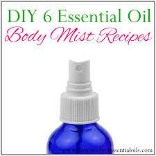 diy essential oil mist recipes