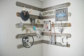 rustic wooden wall decor