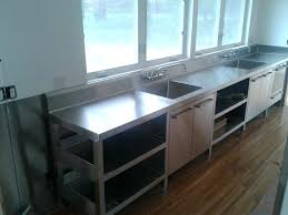 stainless island countertop commercial stainless steel cabinets kitchen island ideas stainless steel countertops long island stainless