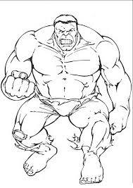 Disegni Da Colorare Hulk 3