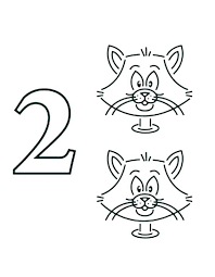 coloring pages number 2 coloring page 1 pages colouring