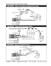 ford ignitions wiring a ford tfi out harness msd 5520 ford ignitions wiring a ford tfi out harness msd 5520 street fire ignition control installation user manual page 7 12