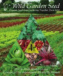 garden seed. Wild Garden Seed Catalog: 2012 T