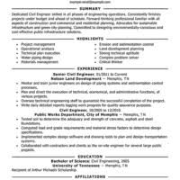... Personal Civil Engineer Resume Template Nelson Land Development and Public  Works Department a part of under ...