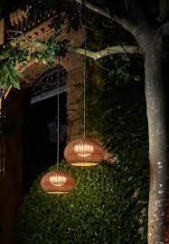 garota hang outdoor pendant light