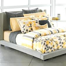 yellow and white bedding apt grey yellow white modern ivy leaves stripe king on bed linen yellow and white bedding