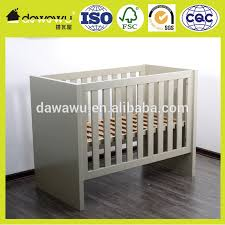 wooden bed furniture cribe and baby bed