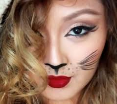 easy cat makeup style for s