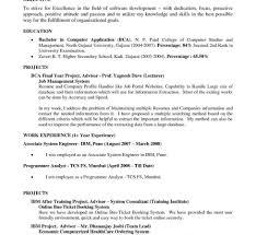 Nursing Objective For Resume Sample Resume