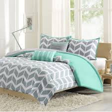 mint green bed set inspirational bedroom wonderful yellow and gray pattern for tar bedspreads of mint