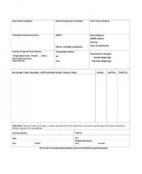 Free Download Commercial Invoice For Customs Purposes Only Proforma ...