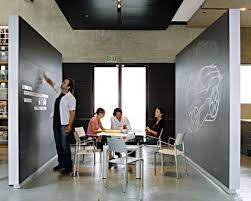 home office design ideas open plan design studio with chalkboards for brainstorming love click image to find more home decor pinterest pins office awesome open office plan coordinated