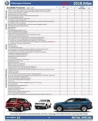 2018 volkswagen order guide. wonderful volkswagen 2018 volkswagen atlas order guide  page 6 to volkswagen order guide a