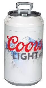 Coors Light Beverage Center Koolatron Cl06 Coors Light Mini Can Fridge White This Is