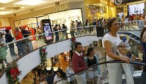 Resultado de imagen para ventas en centros comerciales