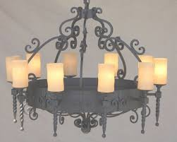 featured photo of mexican wrought iron chandelier