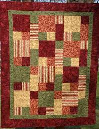 20 best Large Focus Fabric Quilts images on Pinterest | Carpets ... & five fabric quilt pattern - Google Search Adamdwight.com