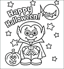 Cute Halloween Coloring Pages For Kids Cute Halloween Coloring Pages Printable