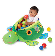 ball pit for babies. turtle ball pit for babies