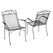 metal garden chairs patio outdoor furniture green teak for au