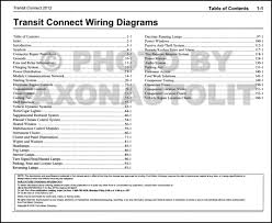 ford transit connect wiring diagram ford image 2012 ford transit connect wiring diagram manual original on ford transit connect wiring diagram