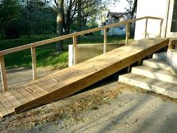 dog ramp for outdoor stairs deck stirs pet dog ramp for outdoor stairs cat diy