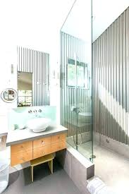 corrugated metal shower corrugated steel wall panels corrugated metal wall corrugated metal barn bathroom contemporary with