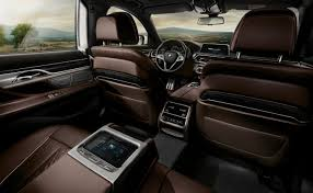 BMW 7 Series Sedan The BMW 750i xDrive interior in exclusive Mocca ...